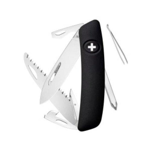 Swiza D06 Swiss Pocket Knife Multi-Tool  - Black