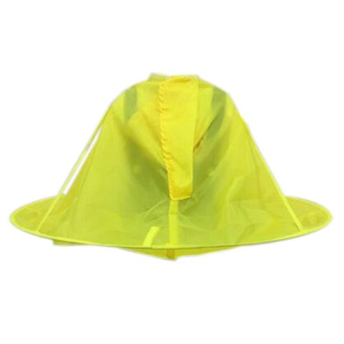 Professional Kid Hair Cutting Cape Baby Styling Salon Waterproof Cloak, Yellow