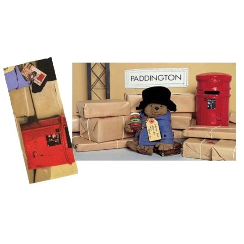 Official Paddington Bear Post Office Picture Tea Towel Souvenir Gift Licenced