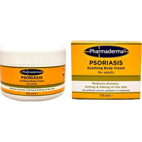 Pharmaderma Psoriasis Soothing Body Cream for adults 175ml