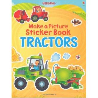 Tractor (Usborne Make a Picture Sticker Book)