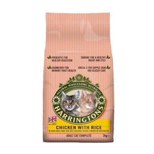 Harringtons Complete Cat Chicken & Rice 2kg