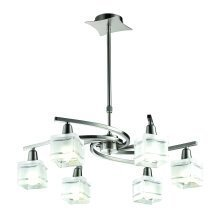 Acton 6 Arm LED Ceiling Light