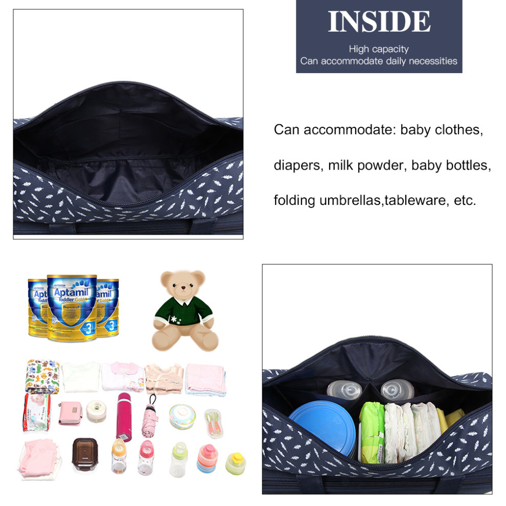 77211a75e5513 ... Navy Kono Teddy Bear 'Welcome Baby' Changing Bag Diaper Nappy Bags with Changing  Mat ...