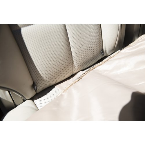 "Petego Rear Car Seat Protector 51""X43""-Anthracite"