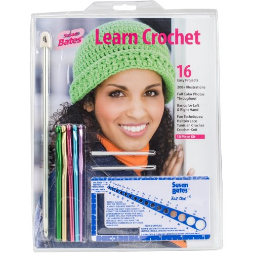 Susan Bates Learn Crochet! Kit 3/Pk-