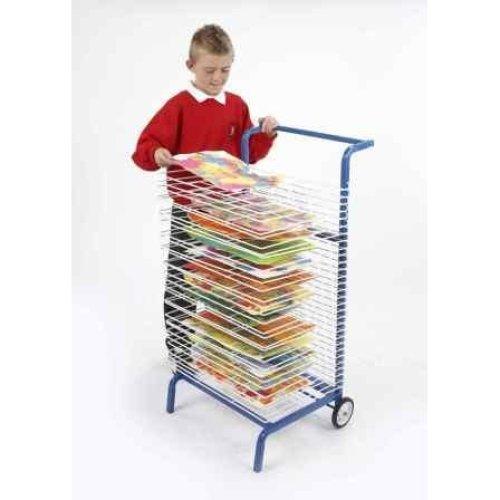 30 Shelf Mobile Art Drying Rack (AGD80)