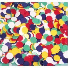 Pack of 500 x 2.2cm(7/8inch) dia. playing counters 00528