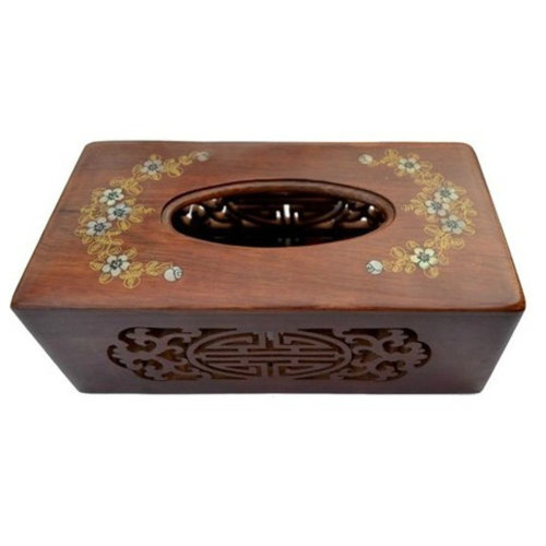 Creative Wooden Toilet Paper Tissue Paper Holder/Tissue Box,BROWN(22*11*8cm)