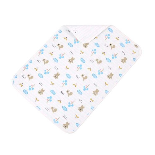 2 pieces Baby Portable Diaper Changing Pad Washable Waterproof Baby Pad C, 40x50cm