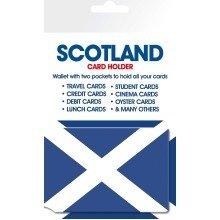Scotland Real Men / Flag Travel Pass Card Holder