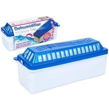 1l Refillable Home Indoor Dehumidifier Moisture Trap -  dehumidifier moisture refillable x traps 500g large 1 litre 2 convenient crystals included