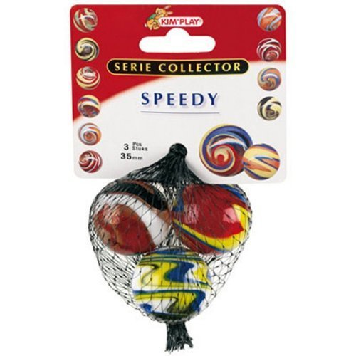 Cofalu 9056 Speedy Marbles 3 Pieces 35 mm