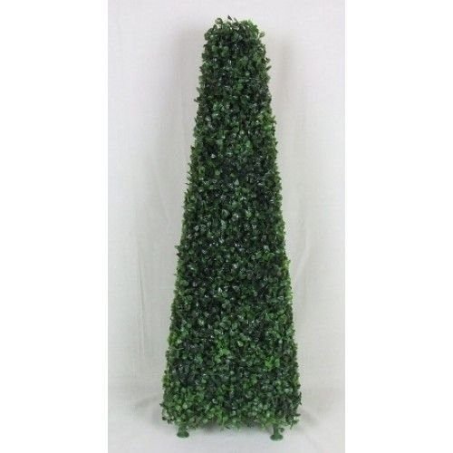 Artificial Topiary Boxwood Pyramid Plants