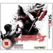 Resident Evil The Mercenaries 3D Nintendo 3DS Video Game