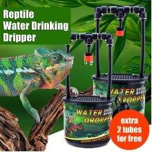 Reptile Drinking Water Dripper Lizard Dispenser