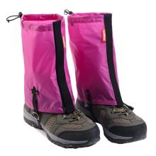 Waterproof Hiking/Climbing/Camping/Skiing Shoes Gaiters - M Rose