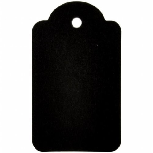 Lucky Dip Chalkboard Tags 1 - Scallop 1.5 x 2.75 in.