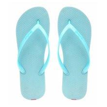 Unisex Casual Flip-flops Beach Slippers Anti-Slip House Slipper Light Blue