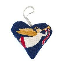 Angel Heart Christmas Decoration Tapestry Kit