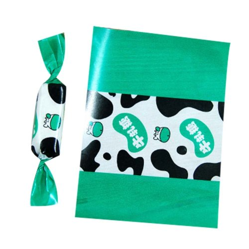 Sweet Nougat Package Bags Candy Wrappers 500 Pcs Wrapping Twisting Wax Papers