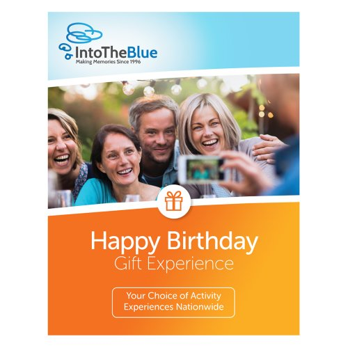£50 Happy Birthday Gift Experience Voucher Box