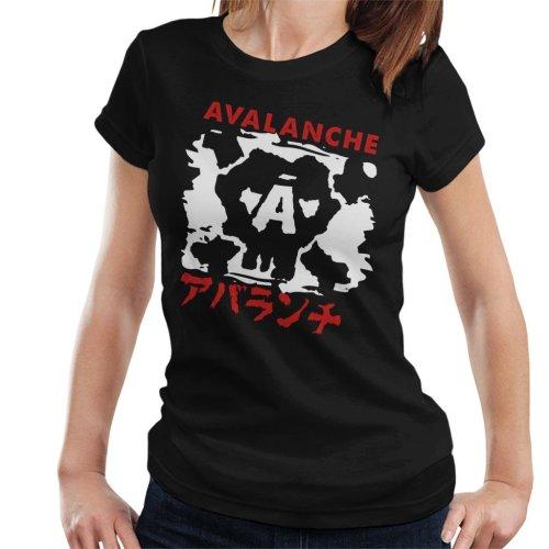 Avalanche Graffiti Final Fantasy VII Women's T-Shirt