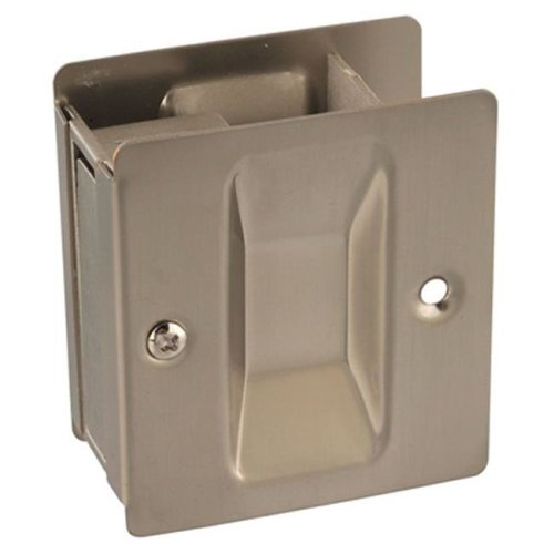 Easy Heat Wood Pellets 208770 Brass Pocket Door Pull