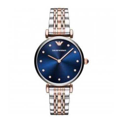 EMPORIO ARMANI WATCH GIANNI T-BAR WOMAN, ONLY TIME AR11092