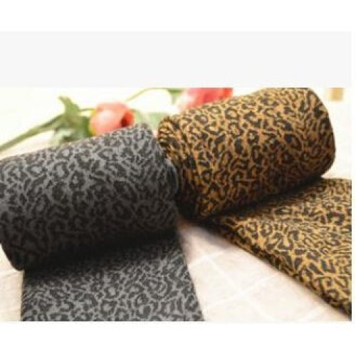 2017 new arrive 200D thick velvet wild leopard was thin backing even pantyhose stockings