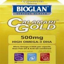 Bioglan Calamari Gold 500mg 30 Gelcaps