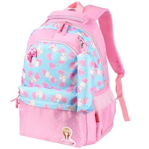 a9c9d1e5859e Vbiger Kids Backpack Adorable Primary School Bag for Little Girls(Pink)