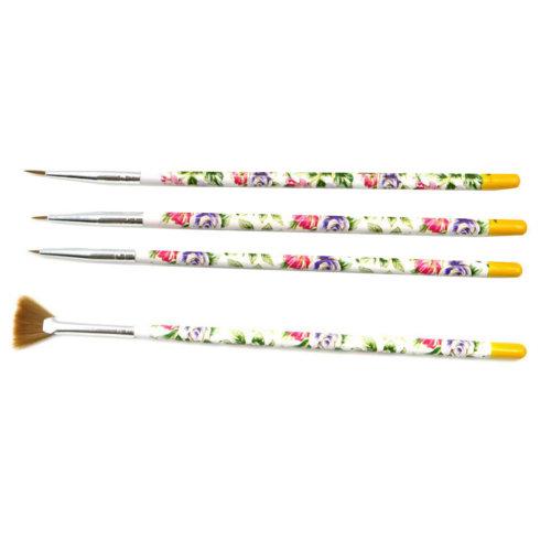4 PCS Toe Nail Art Pens Nail Brush Art Nail Art Tools  Nail Supply Nails Design