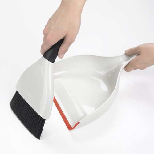OXO Good Grips Click Together Broom Dustpan and Brush Set