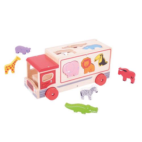 Bigjigs Toys Safari Sorting Lorry