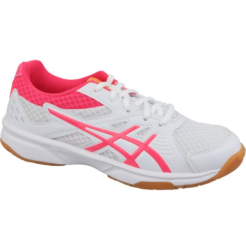 Asics Upcourt 3 1072A012-104 Womens White volleyball shoes