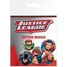Justice League Group Badge Pack