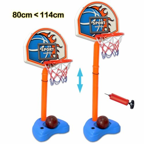 deAO Basketball Playset for Children Standing Portable Basketball Set