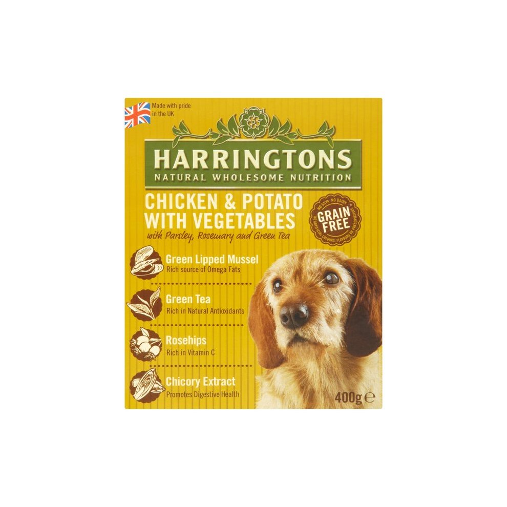 Harringtons Wet Chicken Potato 400g Pack Of 8