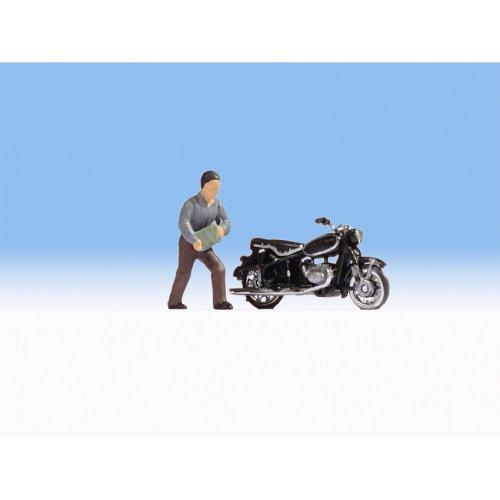BMW R60 Motorbike - OO/HO figures - Noch 15917 - free post