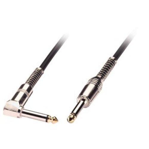 Lindy 6.3mm M/M 0.5m audio cable 6.35mm Black