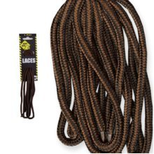 150cm Brown Heavy Duty Laces - Worksite Cord Boot Shoe Workwear Accessory - Worksite Heavy Duty Laces 150Cm Brown Cord Boot Shoe Laces Workwear