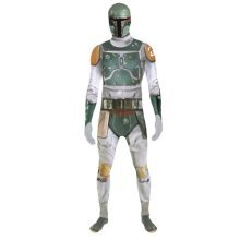 Star Wars Boba Fett Adult Unisex Zapper Cosplay Costume Digital Morphsuit - X Large - Multi-Colour (MLZBFX-XL)