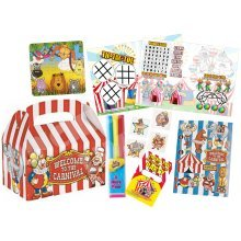 Children's Carnival-Themed Party Box | Kids' Circus Gift Box