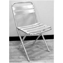 Pair of Jenny Aluminium Outdoor Folding Chair