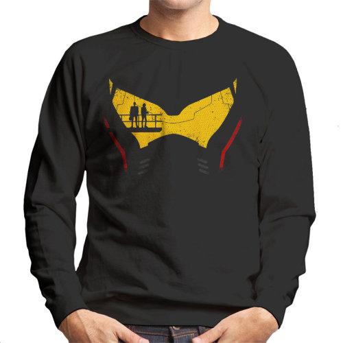 Pacific Rim Jaeger Head Men's Sweatshirt