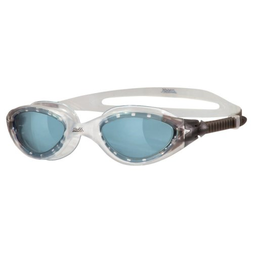 Zoggs Adults Panorama Smoke Tinted Lenses Goggles with UV Protection - Clear