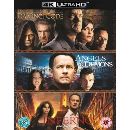 Inferno, Angels & Demons & the Da Vinci Code 4k Ultra Hd Boxset (7 Discs Set)