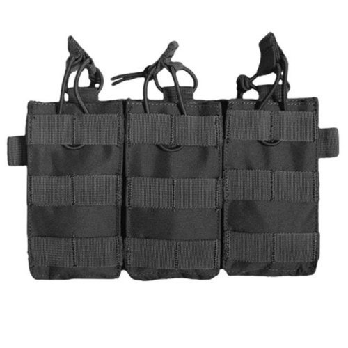 Fox Outdoor 56-6130 Rip-Away M4 90 Round Quick Deploy Pouch - Black