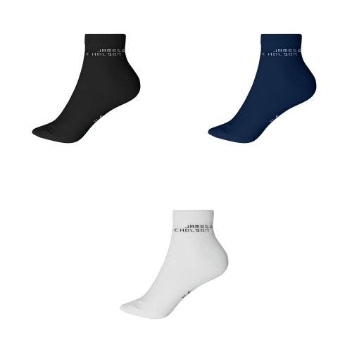 James And Nicholson Unisex Bio Sneaker Socks (1 Pair)